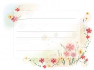 Шаблоны для писем стихов и признаний